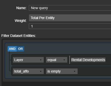 dataset filtering