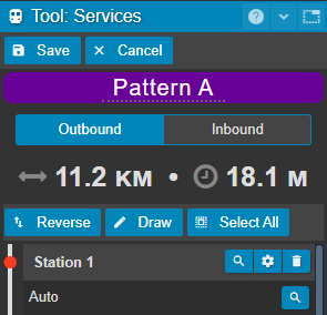 outbound pattern