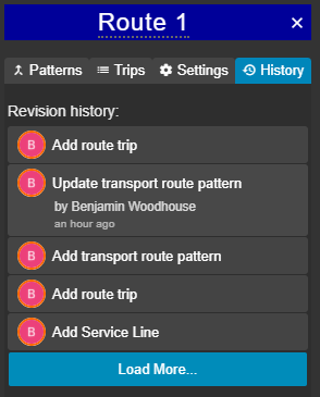 Route History