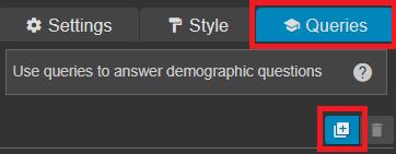 add new isochrone query
